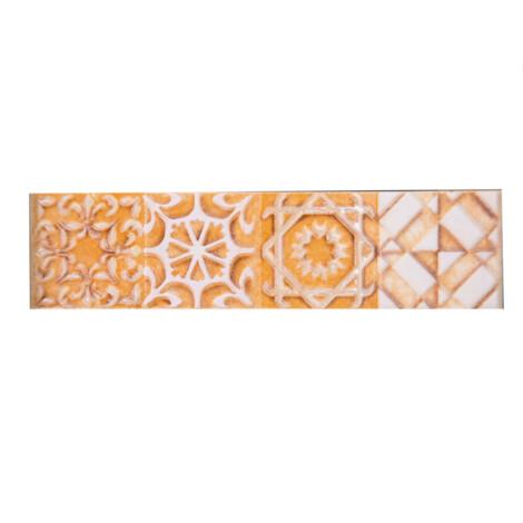 PM91006-1 Eidos Cream: Ceramic Border Tile 05.0×20