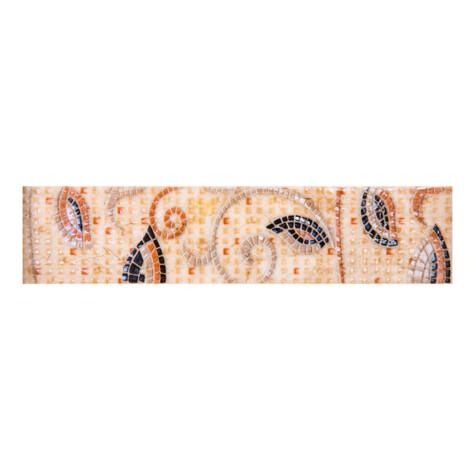 PM91002-1 Brint Ivory: Ceramic Border Tile 05.0×20