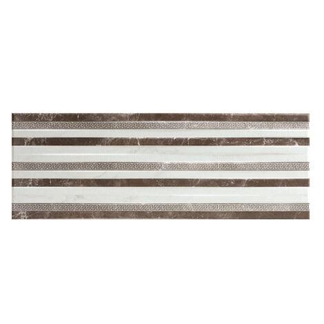 Atrium Ara Band 1: Ceramic Decor Tile 25.0×70