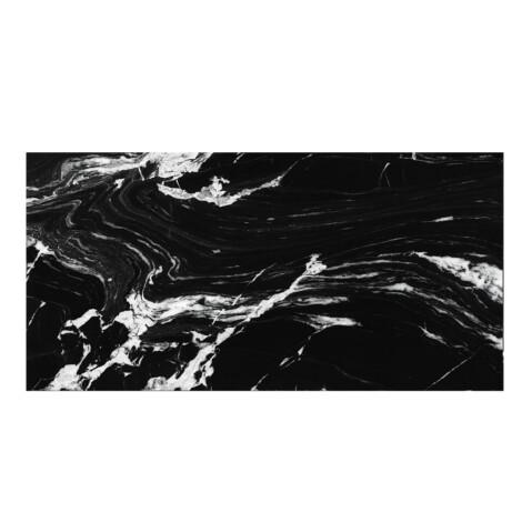 Cromat Lux Iliria Nero: Polished Granito Tile 60.0×120