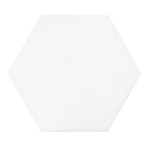 Hex Mayfair Blanco: Matt Granito Tile (19.8×22