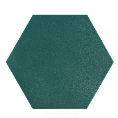 Hex Mayfair Vert : Matt Granito Tile (19.8×22