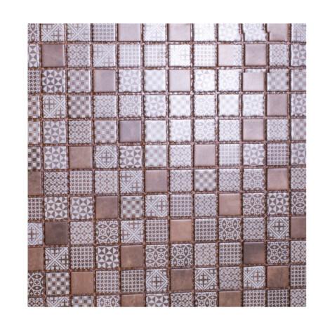 LA18200C: Glass Mosaic Tile 30.0×30