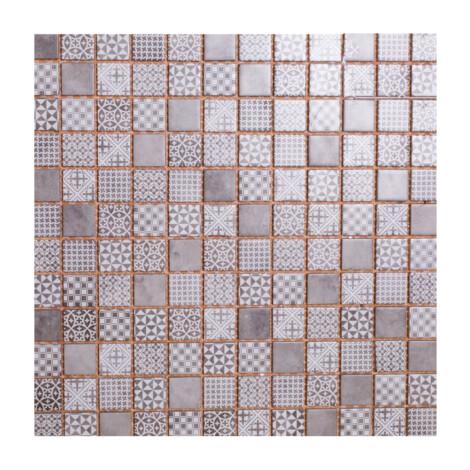 LA18197C: Glass Mosaic Tile 30.0×30