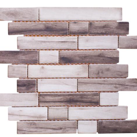 K18106TCC : Glass Mosaic Tile 30.0×30