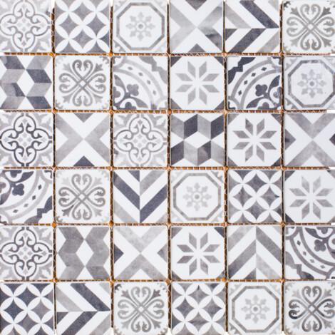 LA19315F: Glass Mosaic Tile 30.0×30