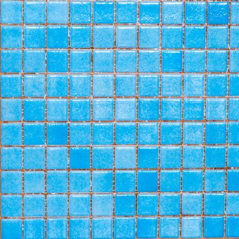 501-Plain : Glass Mosaic Tile 31.7×31