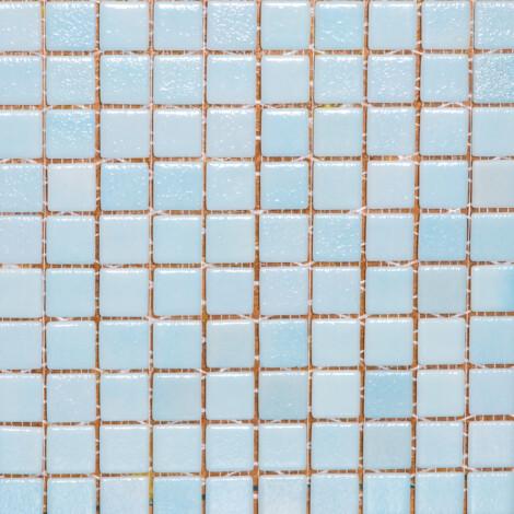 510-Plain : Glass Mosaic Tile 31.7×31