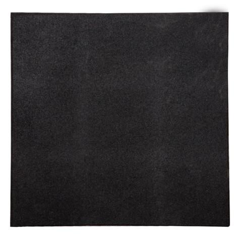 Black Rubber Tile 50x50x2cm 1