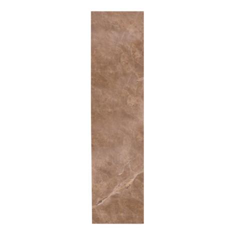 Brecha Rosada Primera: Polished Marble Skirting Tile 10×60 1