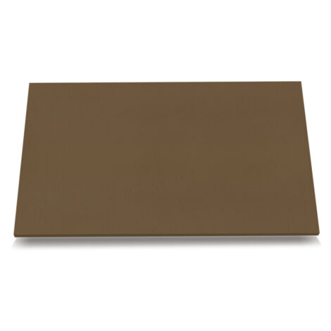 Polished Quartz Worktop (280.0x63.0x1.80)cm, Pure Brown