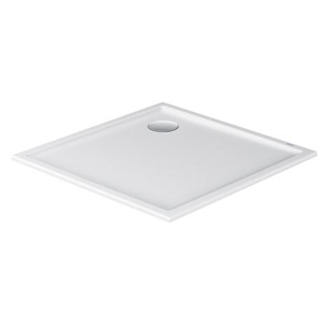 Duravit : Starck : Shower Tray; Slimline, White, 90x90cm #720115000000000