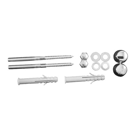 Duravit: Fixings for Urinal: M8/110, Chrome #0067131000