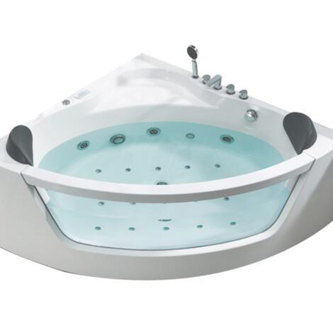 FSHN: Massage BathTub : 1500x1500x590mm : White #D-3023-150 1