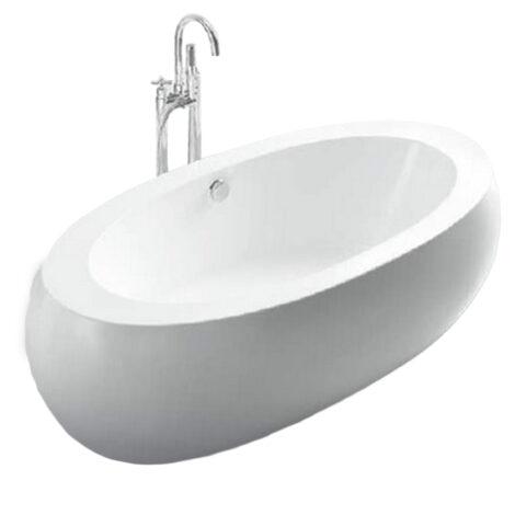 FSHN: Massage BathTub : 1890x930x550mm : White #D-8008-189 1