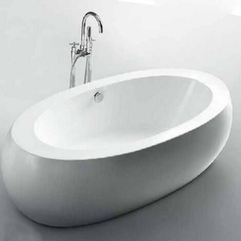 FSHN: Massage BathTub : 1890x930x550mm : White #D-8008-189