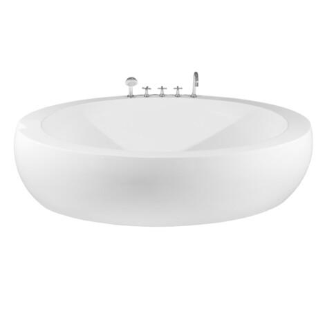 FSHN: BathTub : 2090x1000x580mm : White #D-8008-209 1