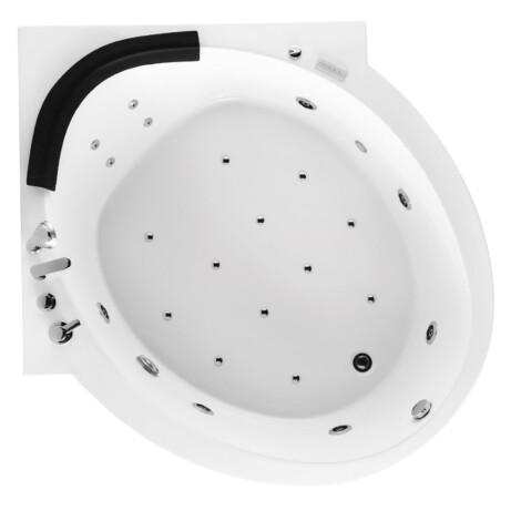 FSHN: Massage BathTub : 1600x1600x600mm : White #D-8162 1
