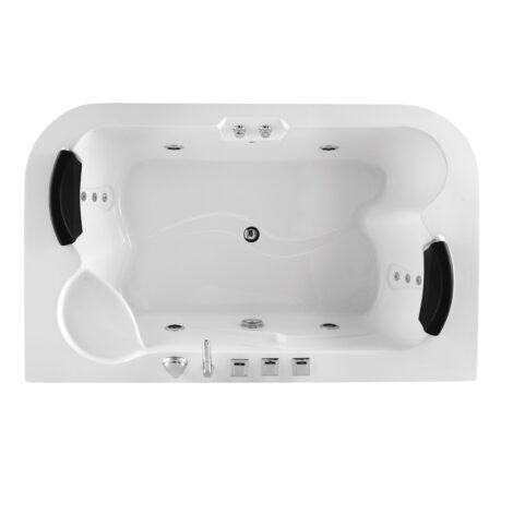 FSHN: Massage BathTub: 1800x1090x670mm : White #D-3181 1