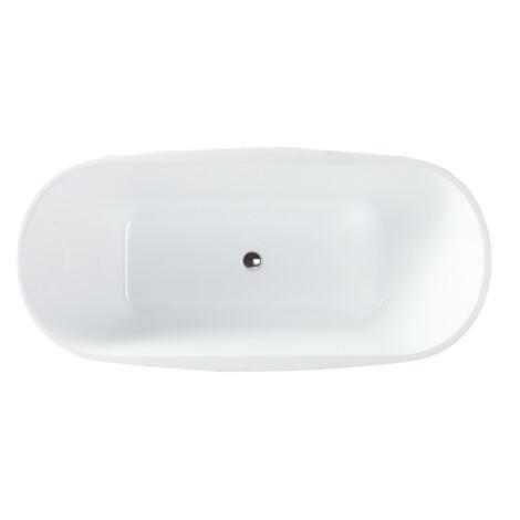 FSHN: Freestanding BathTub: 1700x800x600mm: White #D-8022-170 1