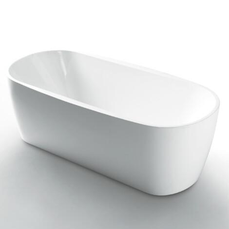 FSHN: Freestanding BathTub: 1700x800x600mm: White #D-8022-170