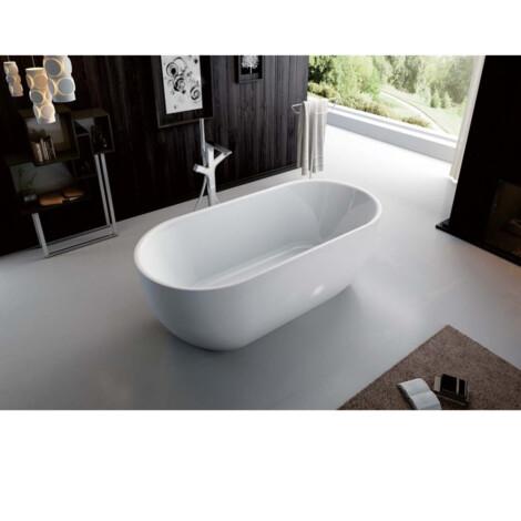 FSHN: Freestanding BathTub: 170x80x60cm: White #D-8368-170