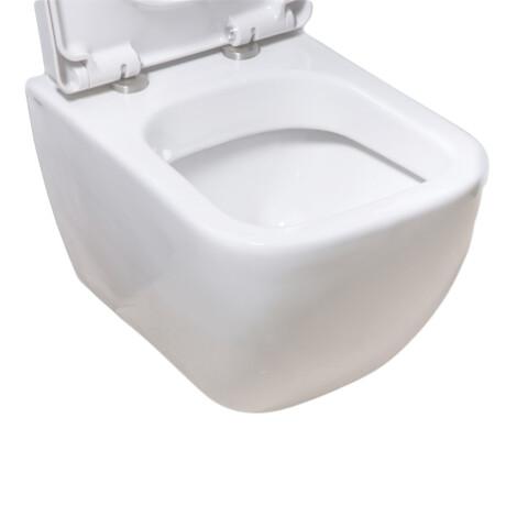 TAPIS Legend: WC Pan: Wall Hung: White #CH10100 1