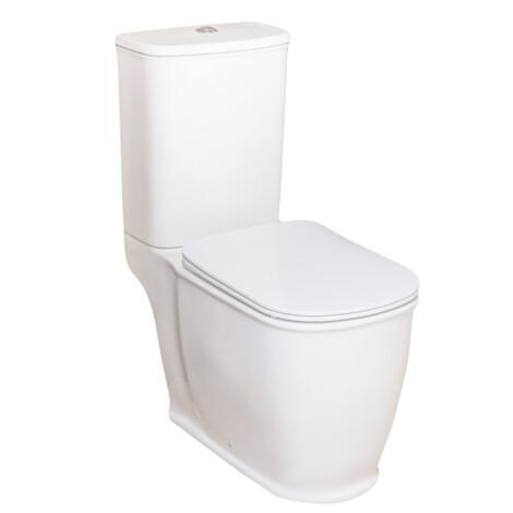 TAPIS Nucas/Genesis: WC Pan: White #C10150/C10150C