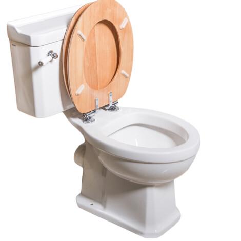 TAPIS Stuart : WC Pan; White #C10142