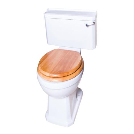 TAPIS Stuart: Cistern; Dual Flush With Fittings, White #T10142 1