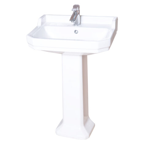 TAPIS Stuart : Washbasin : White #L10142 1