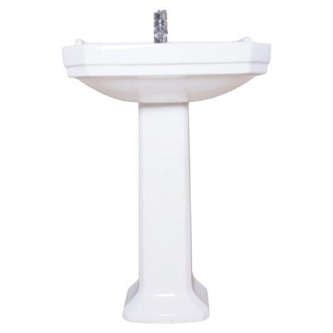 TAPIS Stuart: Pedestal , White #P10142 1