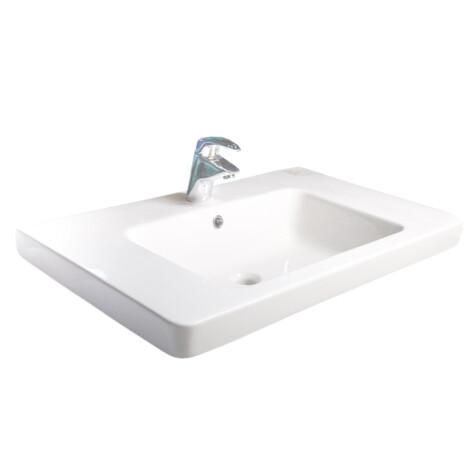 Tapis / Nova : Counter Top Basin : 80cm, White #LF1902-800