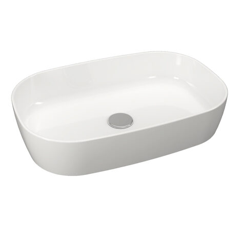 TAPIS / Nova Vanity: Counter Basin, White, 54cm #LW1814S 1