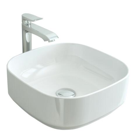 TAPIS: Counter Top Basin, 40cm: White #LW1822 1