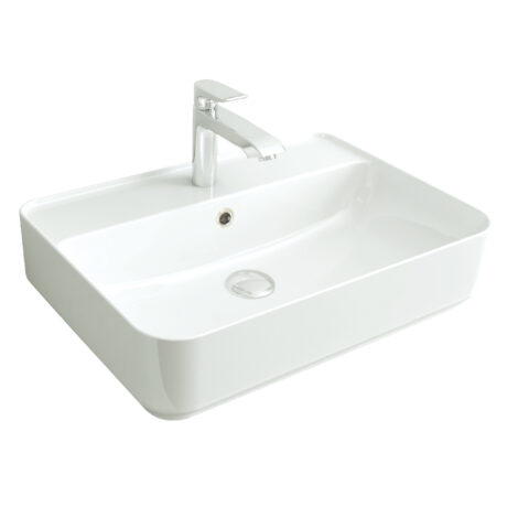 TAPIS: Counter Top Basin, 60cm: White #LW1825