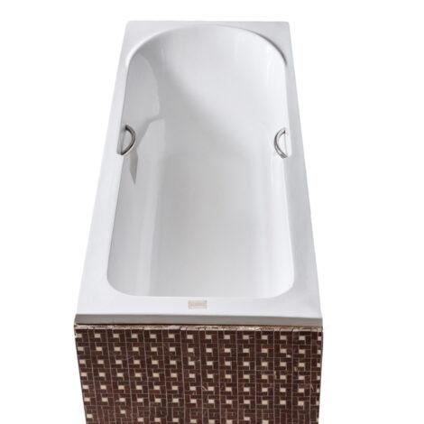 NOVA Oriental: Acrylic Bath Tub: 170x70+Grips+Legs #FT33004