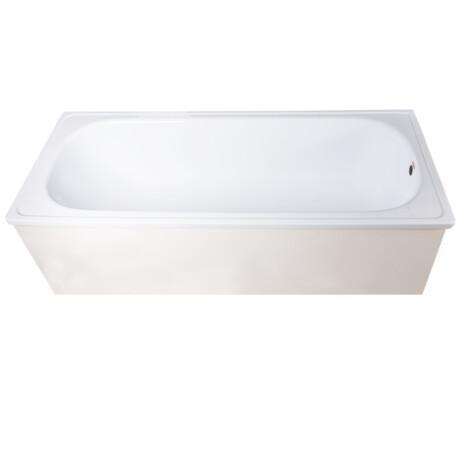 Franke :Enamelled Steel: BathTub: White, 170×70,+Legs 1