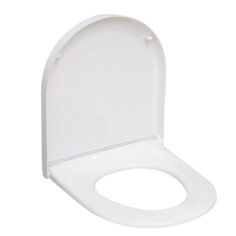DURA: Starck 3 Seat Cover: Soft Close, White #UW5500S/A1-W018 1