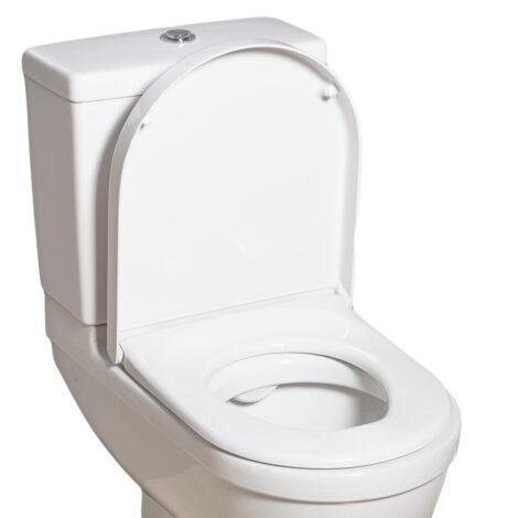 DURA: Starck 3 Seat Cover: Soft Close, White #UW5500S/A1-W018