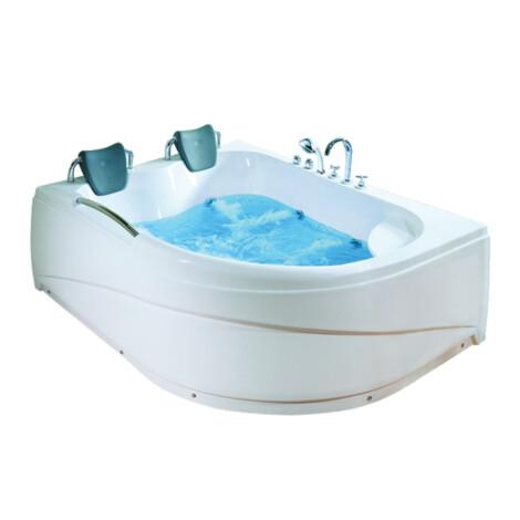 CRW: Massage BathTub: White, 178x130x67cm #CZI024L 1