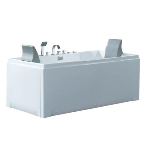 CRW: Massage BathTub: White, 172x81x67cm #CZI063 1