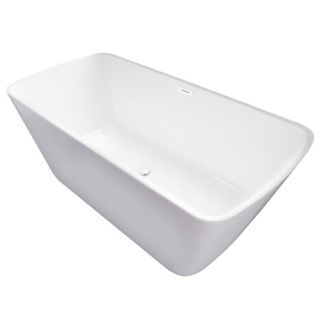 CRW: Massage BathTub: White, 170x80x60cm #CYS011 1