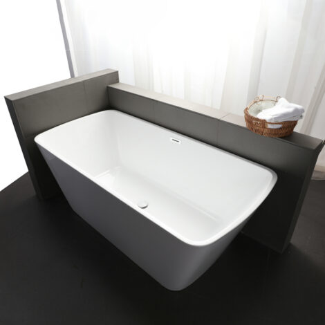 CRW: Massage BathTub: White, 170x80x60cm #CYS011