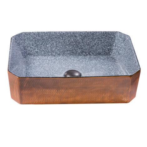 TAPIS Art-Deco: Washbasin With Waste; 50