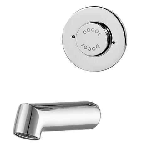 Docol: PressMatic: Bib Tap 85mm Vandal-Proof ,CP #17165006 1