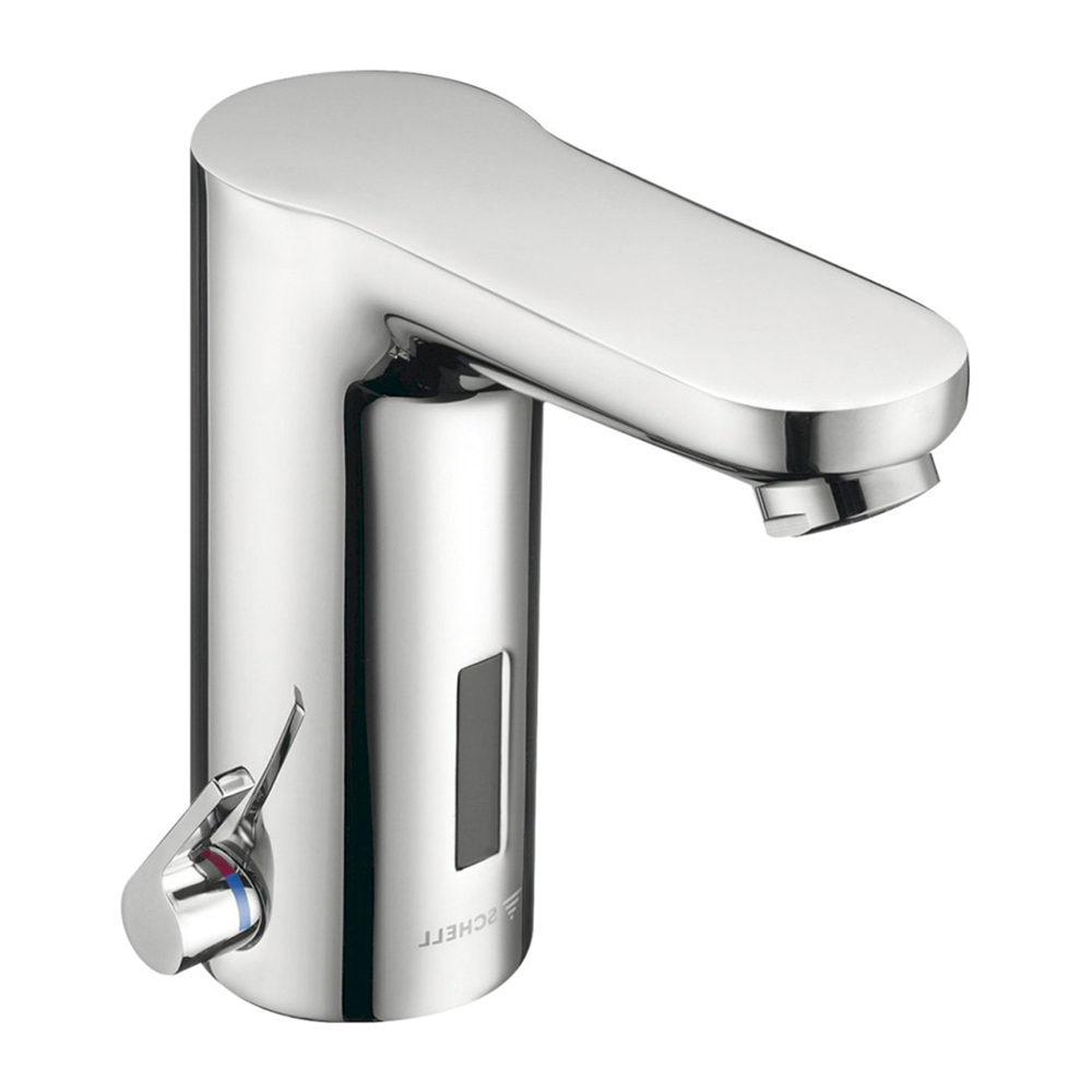 Schell: Electronic Wash Basin Tap; Celis E HD-K; Mains Operated #012310699 1