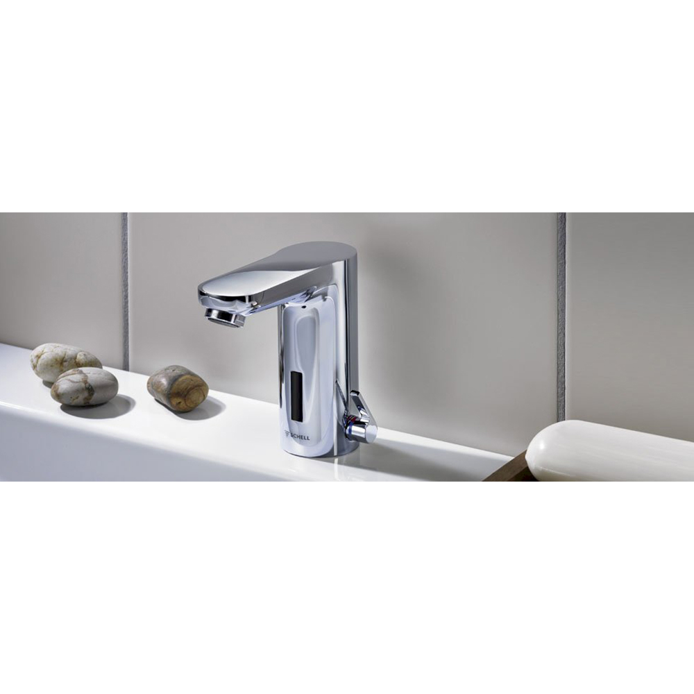 Schell: Electronic Wash Basin Tap; Celis E HD-K; Mains Operated #012310699
