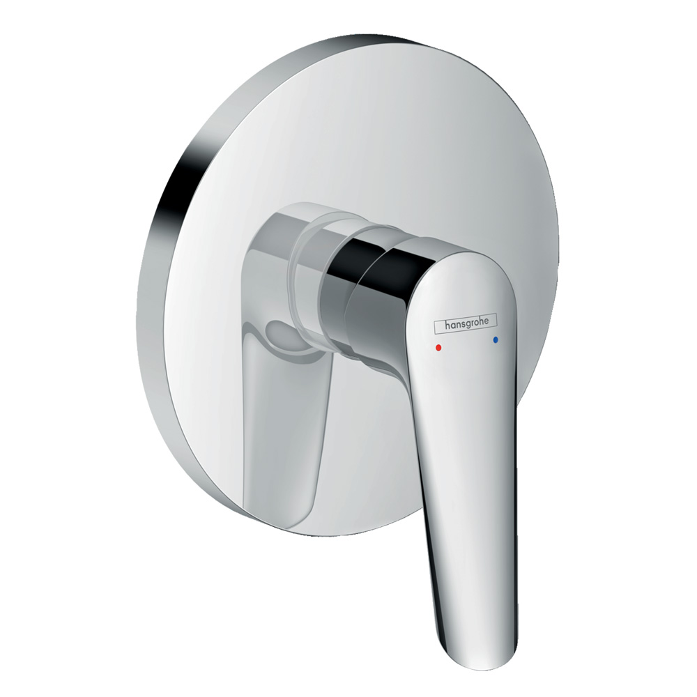 Hansgrohe Logis E: Finish Set For 3 way concealed Shower Mixer  #71603000 1