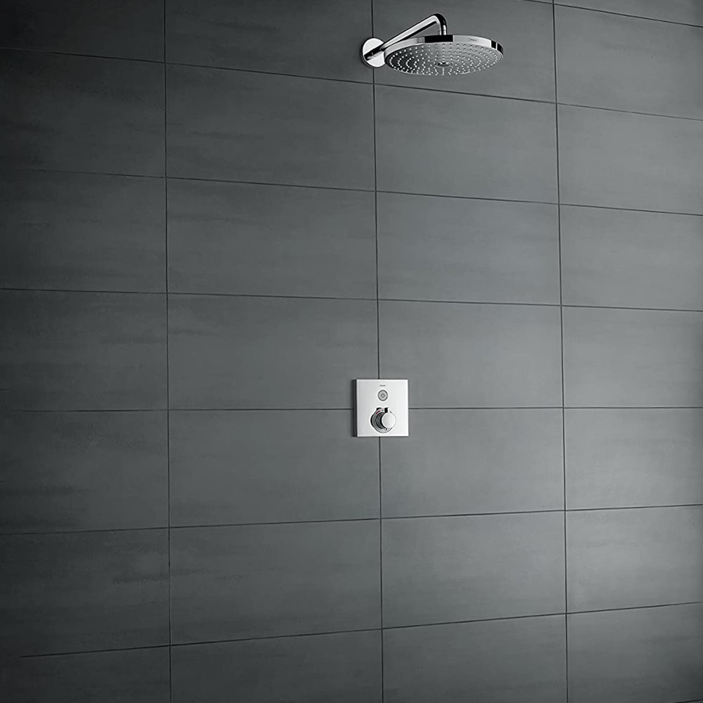 Hansgrohe Shower Select: Finish Set For Conc. Thermostatic Mixer, 1 Outlet;  C.P #15762000